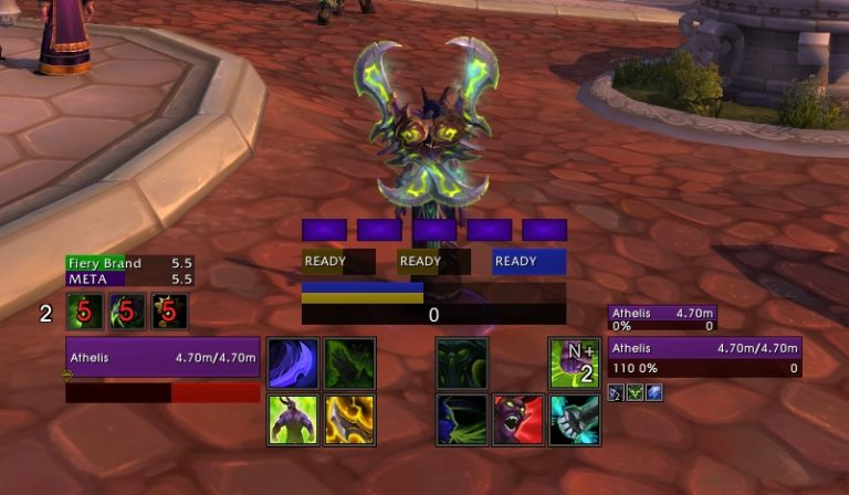 Vengeance Demonhunter UI